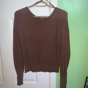 Garage brown sweater